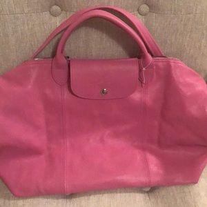 Longchamp bag- le pliage cuir